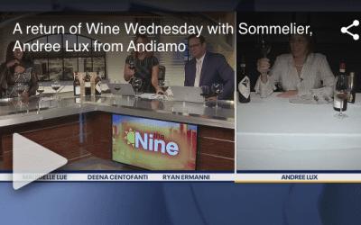 Fox 2 Wine Wednesday with Andiamo Sommelier